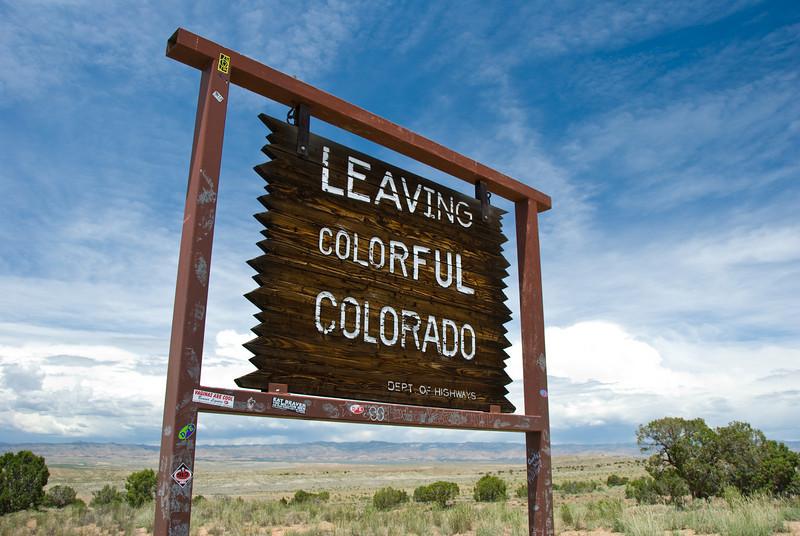 Always a pleasure, Colorado!