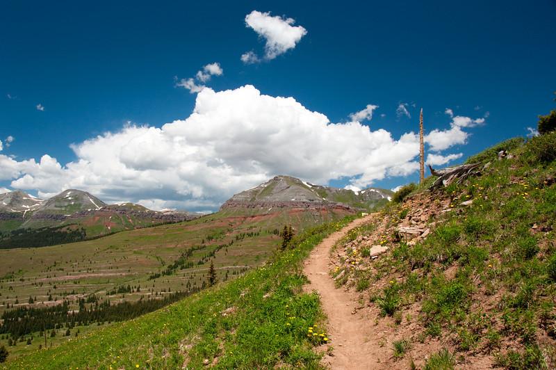 Molas Pass near Silverton, Colorado.