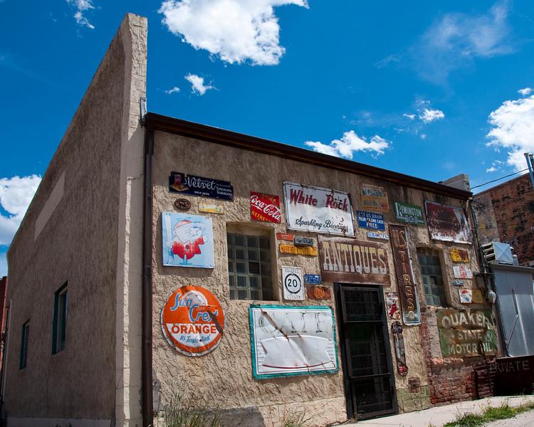 Old building in downtown Salida, Colorado.