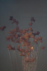 Pre-dark fireworks testing