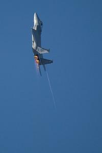 F-15 straight up