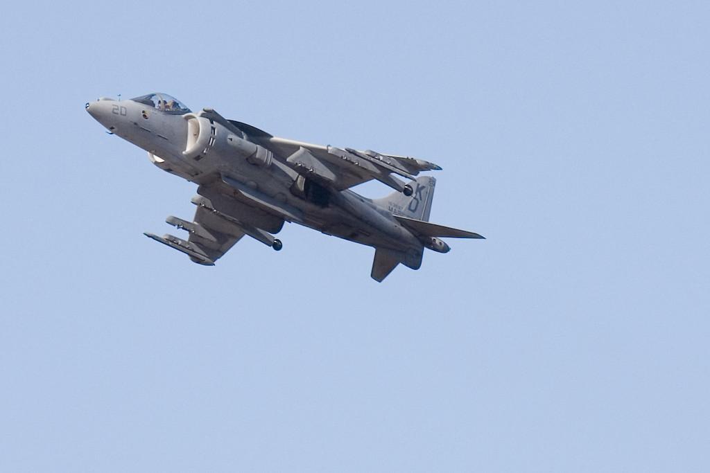 "Marine Corps Harrier ""Jump Jet"""