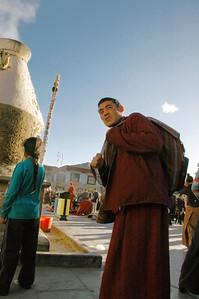 Bakhor square, Lhasa