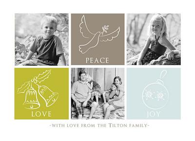 Tilton Christmas Card Samples