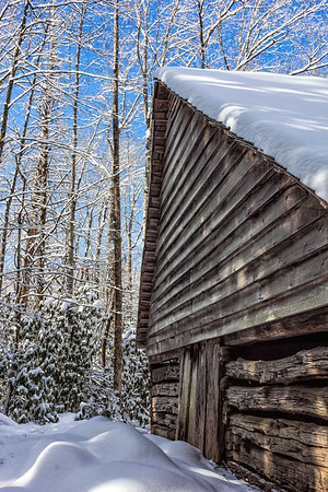Bud Ogle Cabin - Roaring Fork Motor Trail - Great Smoky Mountains National Park