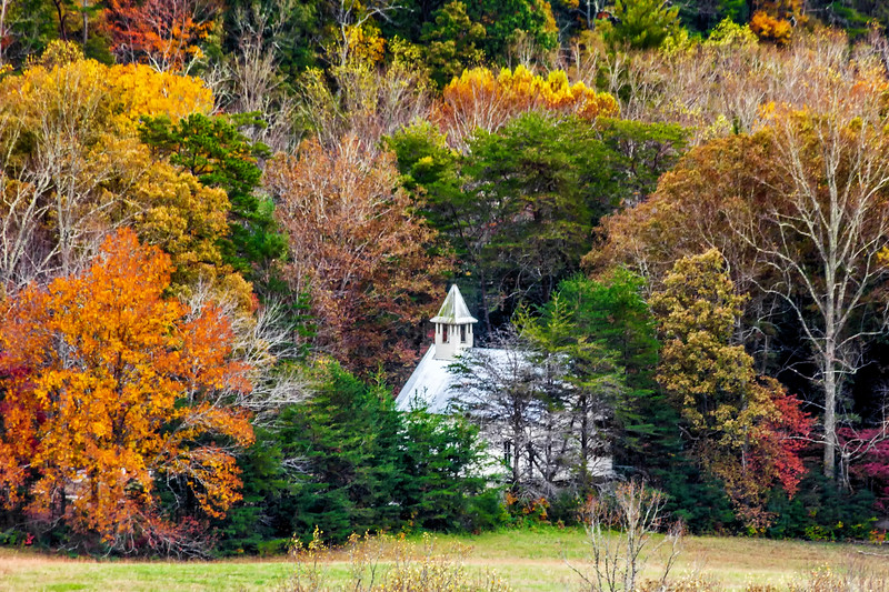 The Methodist Church - Cades Cove - Great Smoky Mountains National Park