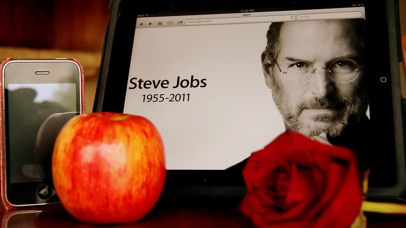 For Steve Jobs one year memorial I am once again featuring my tribute to this amazing, creative man who completely changed our world forever. <br /> My own small memorial to a brilliant visionary who accomplished what so many aspire to.<br /> Thank you Steve Jobs we will miss you!<br />  All my best to your family.....