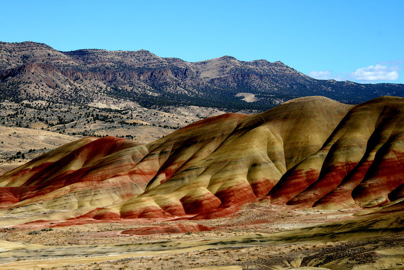 Painted Canyon out in John Day Fossil Beds area of eastern Oregon..last weekend it was a bright sunny day in the 70's, next week high 28! It must be fall!<br /> Happy Saturday, keep warm to those on the east coast!