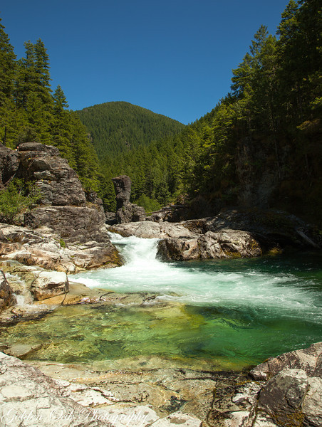 Opal Creek wilderness area, This is the 3 pools area.<br /> So very beautiful!