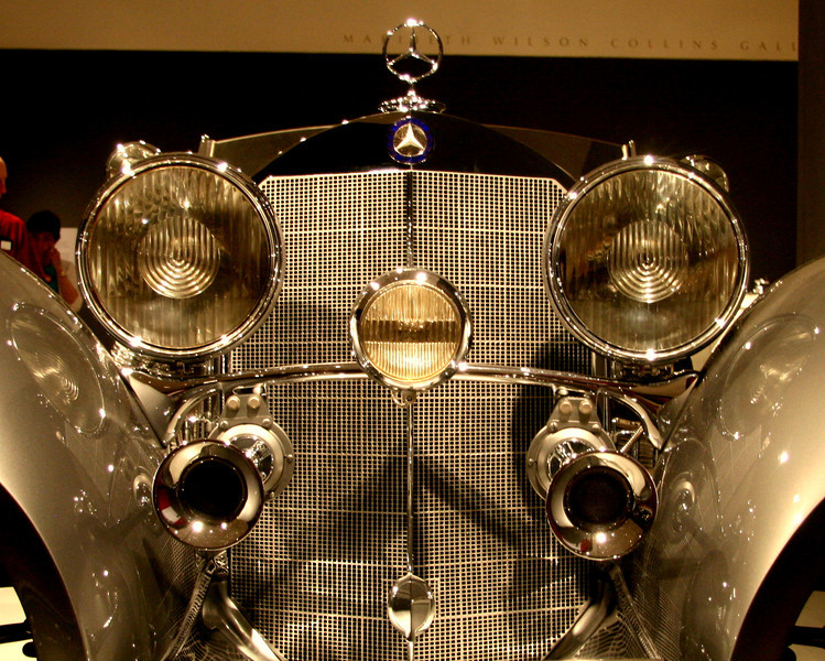 "Love this artistic front end of an old Mercesdes, from my  """"Art in Horsepower"" series..Getting ready for a review/show...kind of harried right now! Ok Pulling hair out more like it!<br /> Wish me luck!"