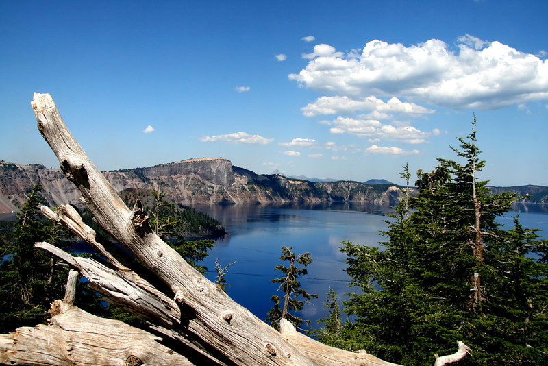 Made a quick trip down to Crater Lake this past weekend. So hard to get the true blue of this amazing lake. It was such a beautiful day..but fires had begun from lightning close by..