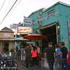 Por que no? is a Portland tradition on Hawthorne know for some yummy Mexican food.  As you can see from the never ending line..it is super popular..especially in summer when you can eat outside in their nice patio. Here's to keeping Portland weird!