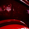 """Reflections of the past""<br /> Looking like a painting, reflections in the red paint of this restored pickup show a country scene, a blue pickup against trees..<br /> Won't be able to post for a couple of days, so wishing you all a fantastic weekend!"