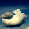 It's the weekend so I thought this playful otter cloud with a ball would be fun.<br /> Tried upgrading to IE 9..couldn't upload pic's on Smug, had to roll back..serious prob for Microsoft and Smug....<br /> This was not photoshopped, these two appeared naturally :)