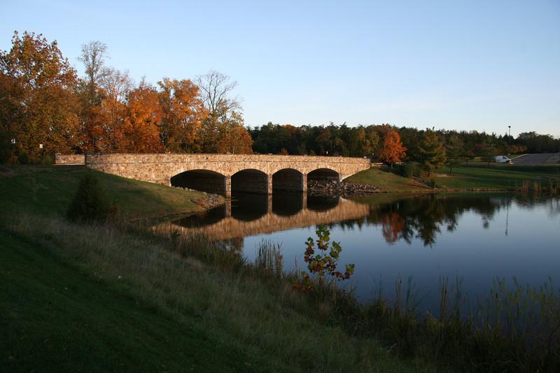 Stone Bridge near Dulles in Virginia on a beautiful fall day!