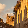 """Setting sun in """"Trujillo Ruins"""", love the soft light and the shadows as the sun sets over the ancient walled town of Trujillo Spain.<br /> Walking the narrow lanes you can almost feel the battles and wars that were fought here."""