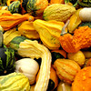 Love the texture of autumn gourds...Have a lovely Tuesday!