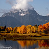 """Tribute""<br /> Since 9/11  is a good day for reflection and fall colors this quiet spot in  Yellowstone in the fall at a peaceful point in the river.."
