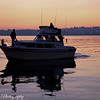 Last night was a spectacular night in Kirkland, on Lake Washington! Those colors you don't get everyday, and with rain starting Friday..don't know when we'll see again!<br /> Thanks to the guys who put the boat right in my shot!