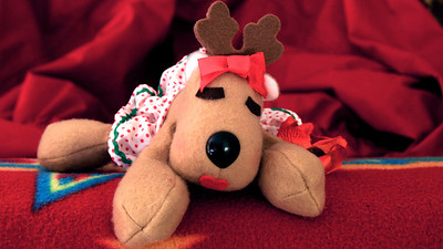 Rhonda the Reindeer ...  Wishing you all happiness and cheer for a Merry Christmas!