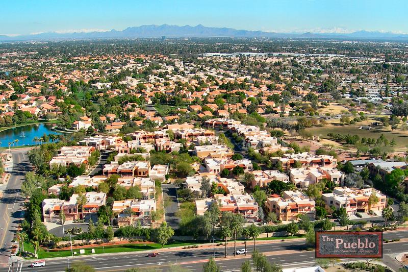 Our neighborhood, The Pueblo in Chandler, Arizona
