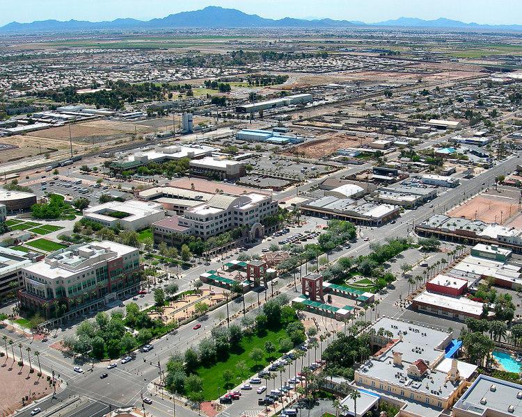 Downtown Chandler, Arizona.