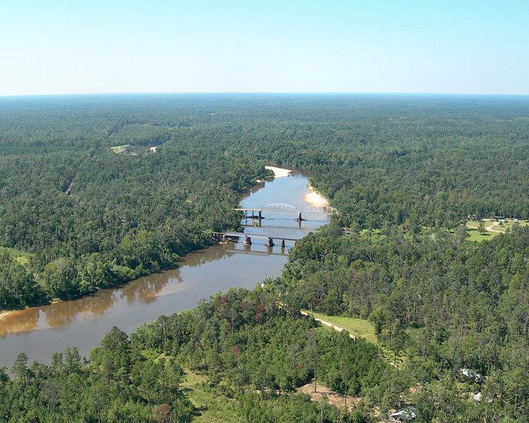 Merrill Bridge in Merrill, Mississippi