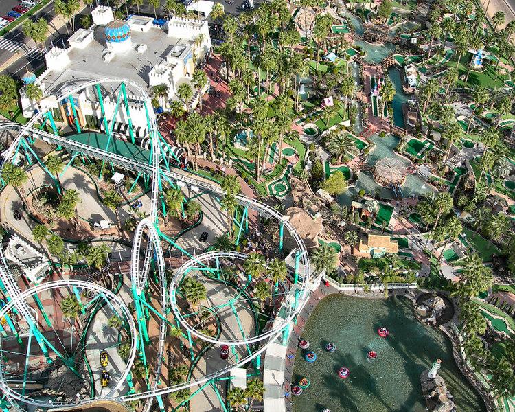 Amusement Park in Phoenix, Arizona.