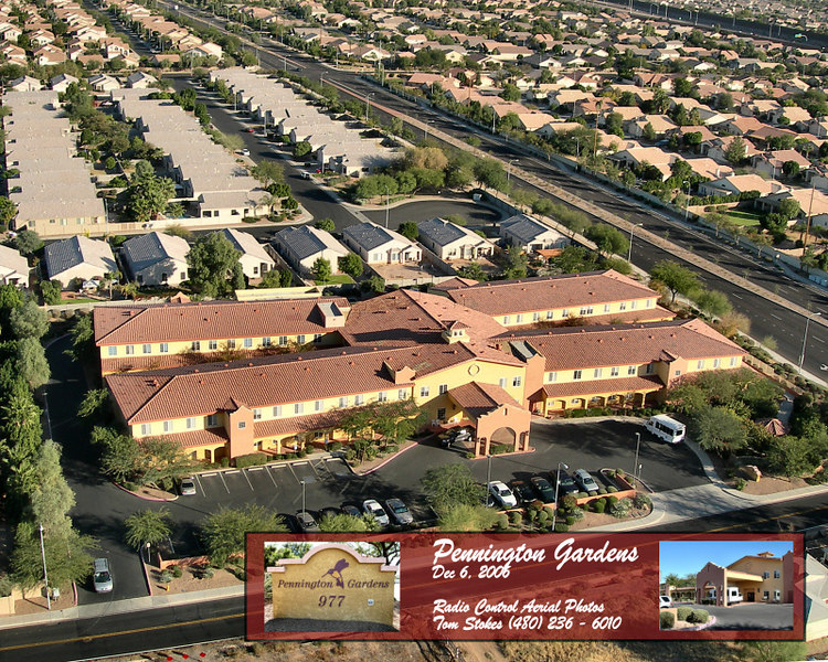 One of the elder care centers here in Chandler, Arizona.