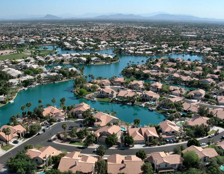 The Islands neighborhood in Gilbert, Arizona