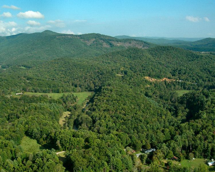 Biggerstaff Road in Spruce Pine, North Carolina.