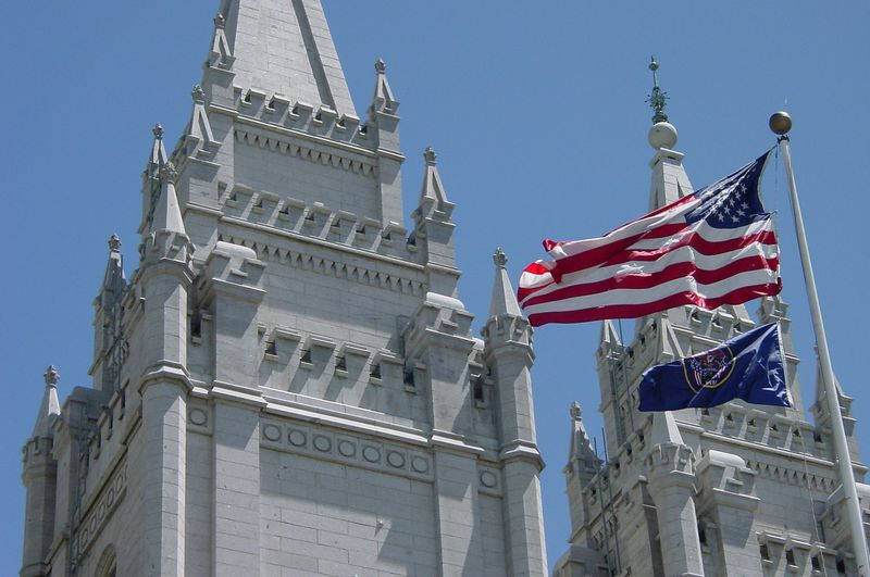 My Favorite Picture of the Salt Lake Temple
