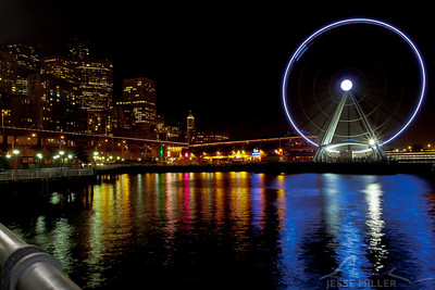 Ferris Wheel: Seattle, Washington