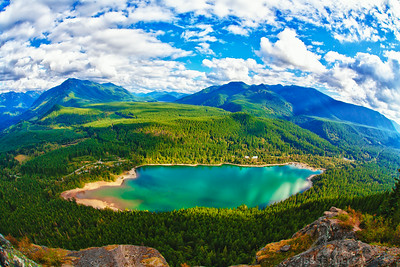 Rattlesnake Lake near Snoqualmie, Washington