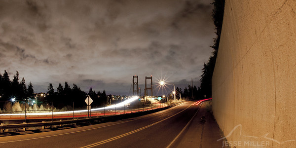 Narrows Bridge: Tacoma, Washington