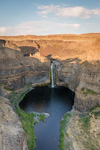 Palouse Falls at sunset, Washnigton