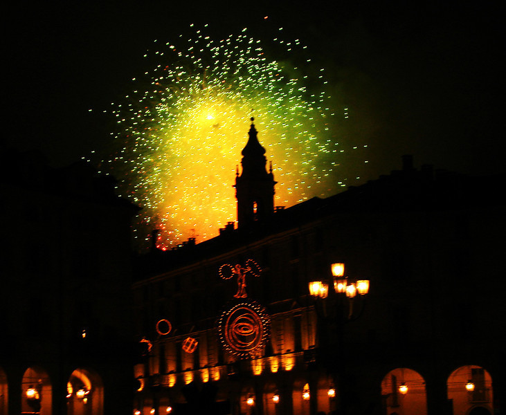 Celebrating the Olympics in Torino