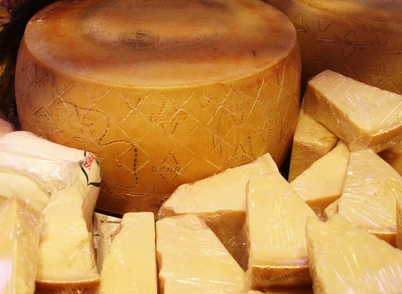 Buying cheese in Torino