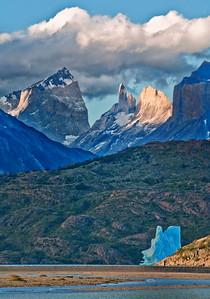 TDP 043   Torres del Paine, Cuernos, towers