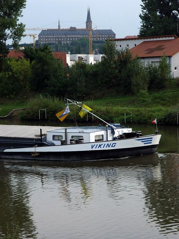 2005-09-14_06480 auf dem Weg zum Hafen in Bamberg am Main-Donau-Kanal/Rechten Regnitzarm on my way to the harbor at the Main-Donau-Kanal (canal) / right creek of the Regnitz