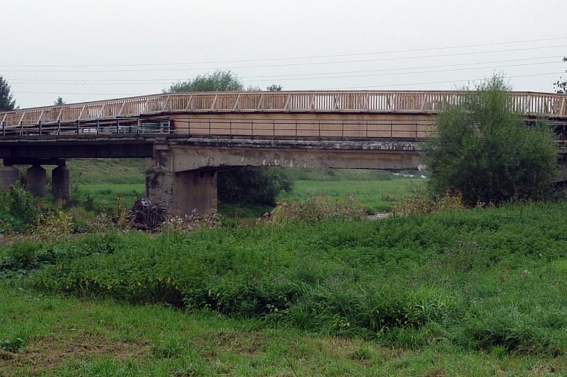 2005-09-11_06279 Brücken am Elsterradweg #4 Bridges at the Elsterradweg #4 (bicycle route following the river Elster)