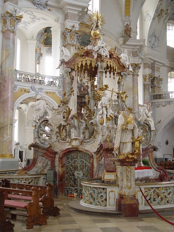 2005-09-13_06363 das prächtige Innenleben der Basilika Vierzehnheiligen #1 view on the glorious interior of the Basilika Vierzehnheiligen #1