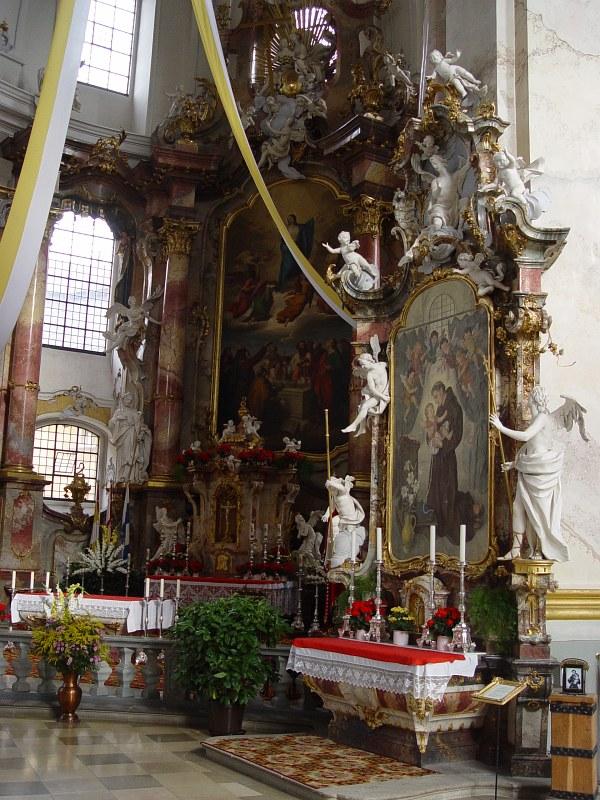 2005-09-13_06368 das prächtige Innenleben der Basilika Vierzehnheiligen #3 view on the glorious interior of the Basilika Vierzehnheiligen #3