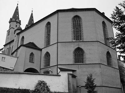 2005-09-12_06291 Rückseite der St. Michaeliskirche in Hof St. Michaeliskirche (church) from the backside