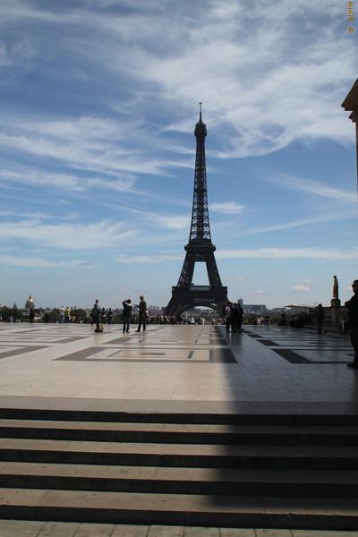 from Esplanade du Trocadero