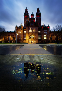 """Kelvingrove at Night"" 16 points"