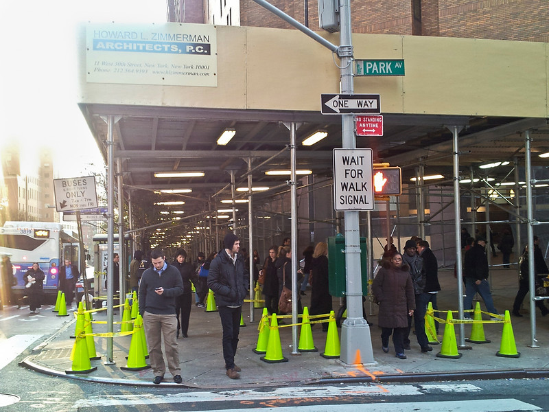 Invasion of the green cones, NYC