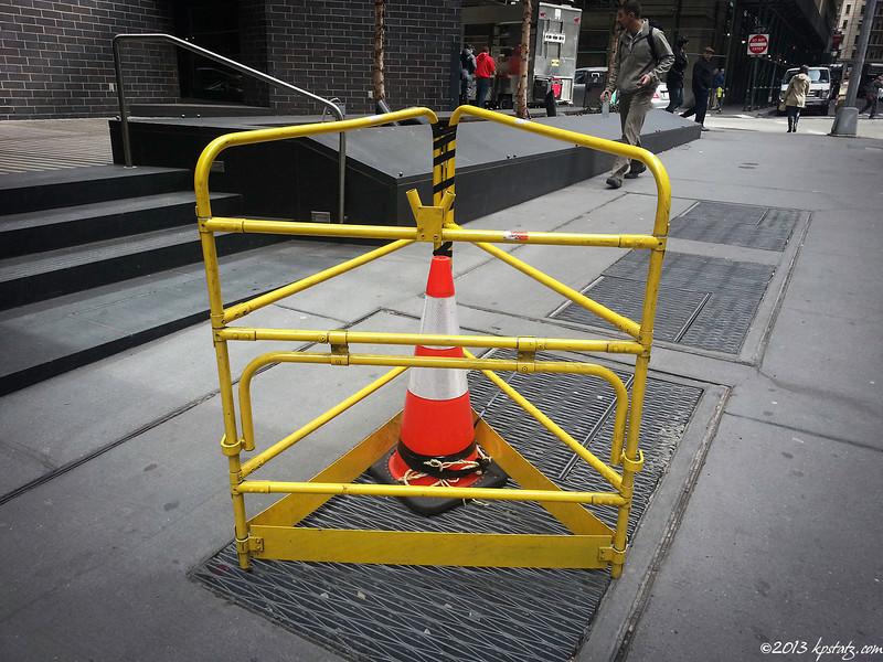 Locked up, NYC