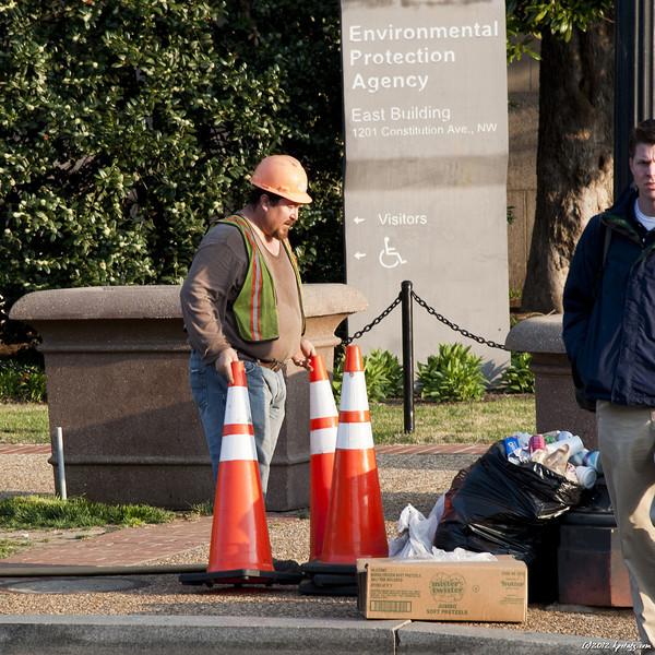 No trash! Washington, DC