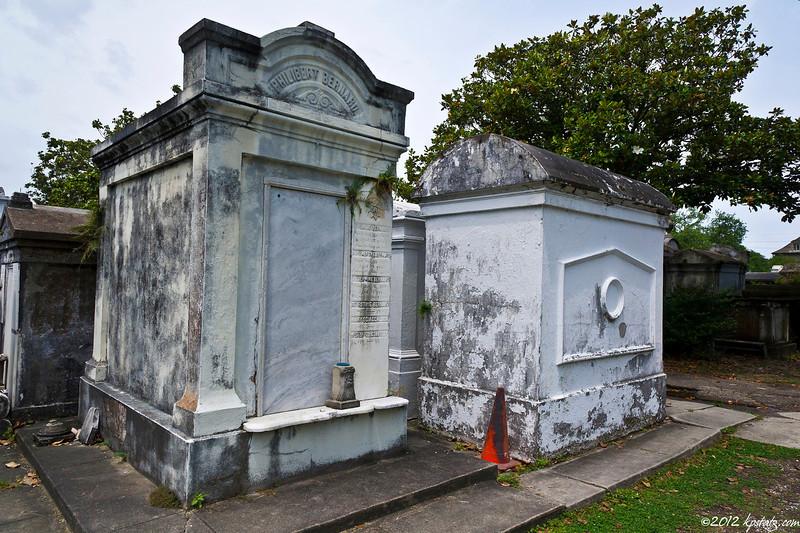 On a NOLA cemetery